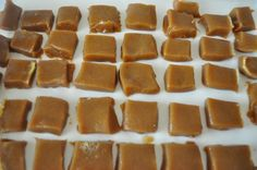 Microwave Caramels. 6 mins... sprinkle with kosher salt.