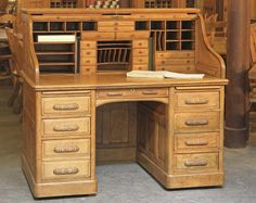 How to Determine the Age of an Antique Roll-Top Desk | Hunker