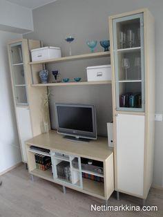 tv unit without the middle shelves ikea magicker - Meuble Tv Ikea Mavas