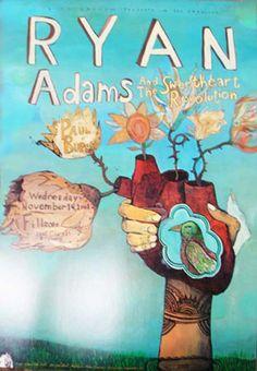 ryan adams poster by joel elrod
