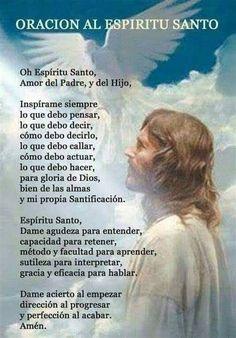 Jesus Prayer, Prayer Scriptures, Faith Prayer, Prayer Quotes, Jesus Christ, Spiritual Prayers, Prayers For Strength, Spiritual Images, Spanish Inspirational Quotes