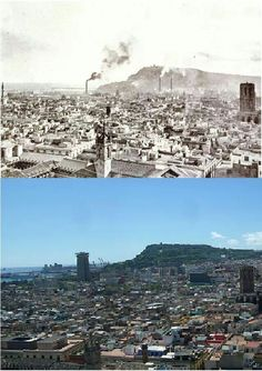 Terrat Catedral diferencia de 100 anys