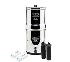 Royal Berkey with 2 Black Filters and 2 PF-2 Fluoride Fil...
