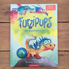 """Picture Book Week Day Furzipups, the Knatterdrache - A picture book to take part in - """"Furzipups, the Knatterdrache"""" by Kai Lueftner, illustrated by Wiebke Rauers, published by Copp - What Is Parenting, Parenting Books, Gentle Parenting, How To Treat Anxiety, Presents For Kids, Book Week, Preschool Crafts, Kids Playing, Childrens Books"""