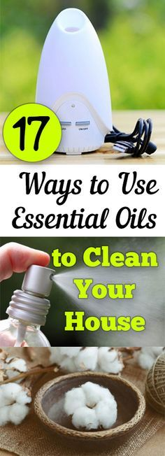 Try these great ways to clean your house with essential oils.
