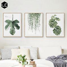 Modern Scandinavian minimalist style living room decorative painting restaurant room fresh frescoes wall paintings Malerei