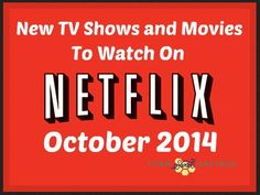 Netflix Instant Streaming: New TV Shows and Movies in OCTOBER 2014! *Gilmore Girls, Hunger Games*