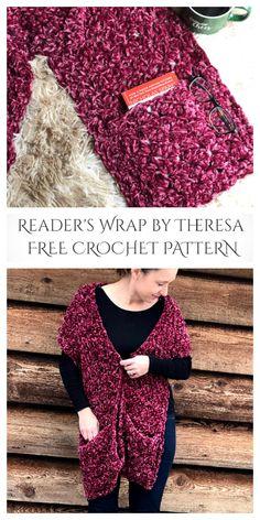 Crochet Hooded Scarf, Crochet Jacket, Crochet Scarves, Crochet Clothes, Crochet Wrap Pattern, Diy Crochet, Crochet Baby, Crochet Patterns, Crochet Shawls And Wraps