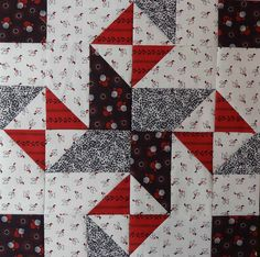 Fat Quarter Star Block