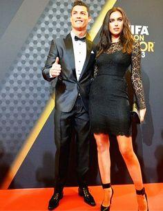 Cristiano & Irina Shayk Ballon d'Or 2014