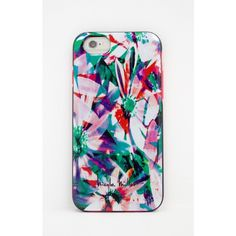 Nicole Miller iPhone 6 Flora Tropica Hardshell Case featuring polyvore, fashion, accessories, tech accessories, as sample and nicole miller