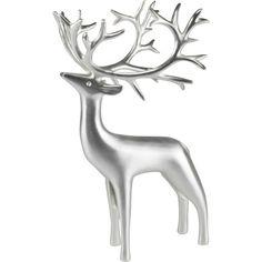 PENTIK - Inari Hopeoitu Poro Reindeer Decorations, Marimekko, Finland, Sculptures, Wall Art, Design, Garlands, Dancer, Ornaments