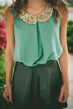 classy green