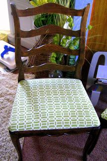 """Found in the """"Ali"""": Dining Chair Re-vamp"""