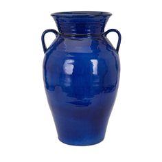 Imax Trisha Yearwood Honey Bee Blue Vase