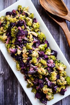 Get on the healthy train, starting with this gluten-free cauliflower and vinaigrette salad.