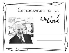 Conociendo a Miró. by alicris via slideshare Teaching Spanish, Teaching Art, Famous Artists, Great Artists, Spanish Art, Ecole Art, Spanish Painters, Joan Miro, Artist Art