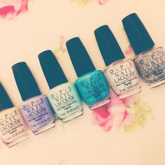 Latest editions to my OPI Polish Collection! Opi Polish, Nails, Beauty, Collection, Nail Polishes, Finger Nails, Ongles, Beauty Illustration, Nail