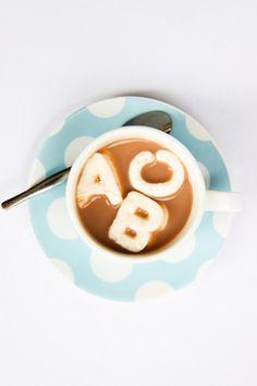 Alphabet marshmallow by Raspberri Cupcakes