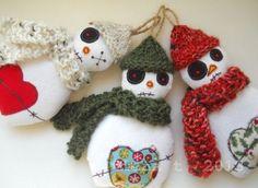 3 zombie snowmen