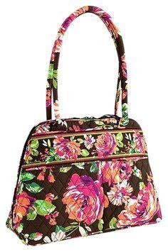 19b79c82afad Vera Bradley Bowler English Rose Cotton Shoulder Bag 51% off retail