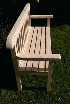 1000 images about handmade garden furniture by marc wood - Handmade wooden garden benches ...