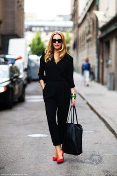 StreetStyle Black Formal Jumpsuits