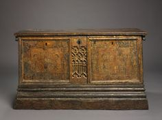 Gothic Marriage Chest | Cleveland Museum of Art