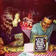 Syn & Shadows. My heart skipped a beat. These two are my faaaaaavorite. :)