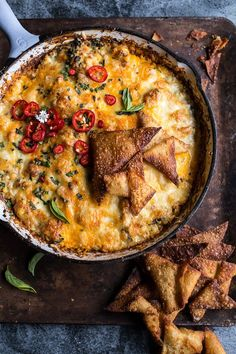 Cheesy Miso Caramelized Corn and Pineapple Chile Dip   Half Baked Harvest