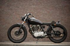 Yamaha SR 500 SS im BMX Style. Die Wiedergeburt der Yamaha SR 500 SS in der Werkstatt von Dr. Mechanik in Waiblingen bei Stuttgart.