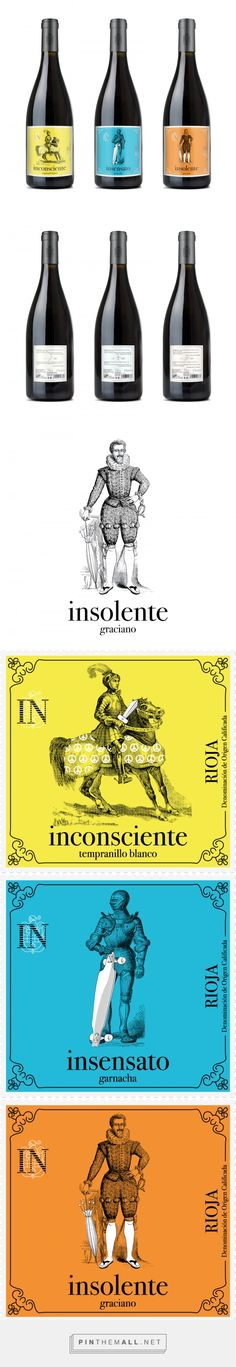Knight with a longboard? Gama IN wine label design by Dialoga…