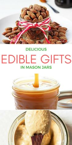 7 delicious diy edible gift ideas in mason jars
