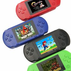 Video Game Console 16 Bit Handheld with 150+ Classic Games 2.7 Inch Portable