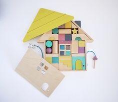 gg* :: tsumiki building block house  Colourful and fun #beeniebudsandco