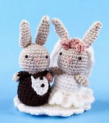 Free Amigurumi Bunny Wedding Pattern