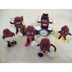 California Raisins I collected when I worked @ Hardee's...