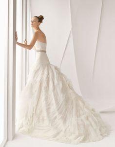 فساتين زفاف روزا كلارا #bride_day  #wedding_dresses