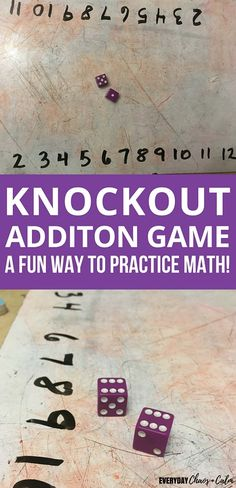 Math Card Games, Fun Math Games, Dice Games, Learning Games, Fun Educational Games, Numeracy Activities, Children Activities, Educational Leadership, Learning Numbers