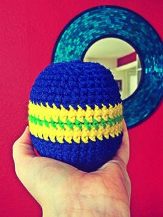 Baby rattle! For my little man. Best of both worlds, it's a ball and makes noise