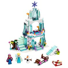 Buy LEGO Disney Princess Elsa's Frozen Ice Castle Online at johnlewis.com
