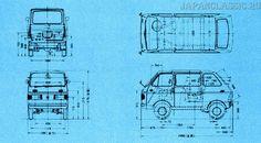Suzuki Carry 1969 L40 - JapanClassic