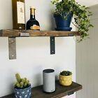 RECLAIMED RUSTIC Scaffold Board shelf Industrial/Rustic Shelves, Solid Wood | eBay Copper Shelving, Rustic Wall Shelves, Wood Floating Shelves, Rustic Walls, Scaffold Boards, Scaffolding, Wall Brackets, Rustic Industrial, Wood Pallets