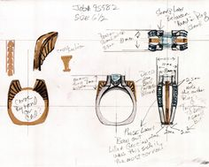 Custom Designed Jewelry by Vandenberg Jewelers