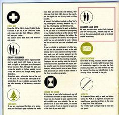 Absurd And DesignSavvy Vintage Employee Handbooks  Employee