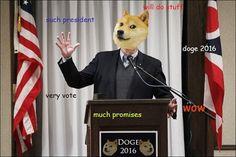 Doge Meme – Doge President