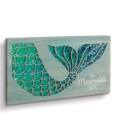Turn your home into a tropical oasis with the help of this fun sign that helps you channel your inner mermaid. Turn your home into a tropical oasis with the help of this fun sign that helps you channel your inner mermaid. Mermaid Sign, Mermaid Beach, Mermaid Art, Mermaid Cove, Mermaid Crafts, Mermaid Jewelry, Mermaid Tails, Mermaid Bedroom, Mermaid Kisses