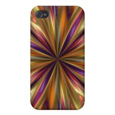 Tiger Anemone iPhone 4 Cases