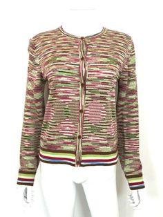 Missoni Multi Knit Button-Down Cardigan / RRP: £480.00