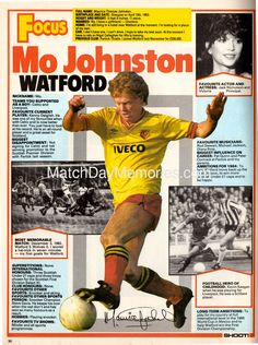 Old Football Boots, Football Odds, Football Icon, Uk Football, Retro Football, Football Shirts, Football Players, Watford Fc, English Football League